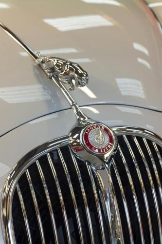 Classic Jaguar in storage at Classic Car Storage UK.